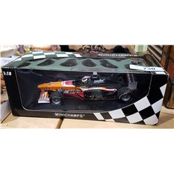 MINICHAMPS DIE CAST RACECAR IN BOX