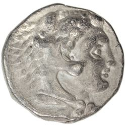 MACEDONIAN KINGDOM: Alexander III, the Great, 336-323 BC, AR tetradrachm (16.81g). F-VF