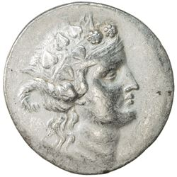THASOS: after 148 BC, AR tetradrachm (16.83g). VF