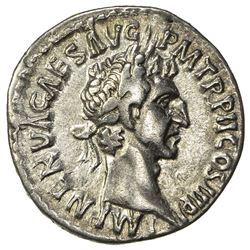 ROMAN EMPIRE: Nerva, 96-98 AD, AR denarius (3.08g), Rome (Sept.-December 96). VF