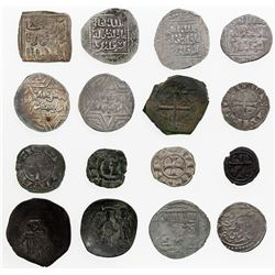 CRUSADER KINGDOMS: LOT of 16 pieces of the Crusaders and related items