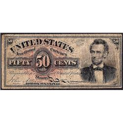 March 3, 1863 Fourth Issue 50 Cent Fractional Currency Note