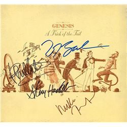 """Genesis """"A Trick of the Tail"""" Signed Album"""