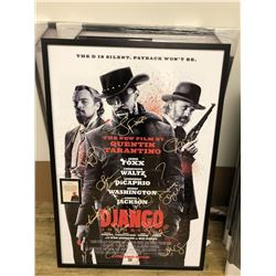 Django Unchained -  Signed Movie Poster