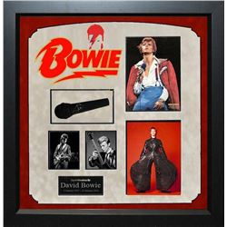 David Bowie Signed Mic