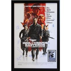 Inglorious Basterds Signed Movie Poster