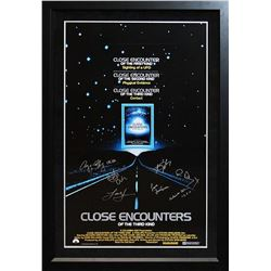 Close Encounters Of The Third Kind Signed Movie Poster