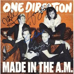 One Direction Band Signed Made In The A.M. Album