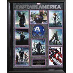 Captain America: The First Avenger Signed Mask Collage