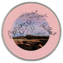 """Moody Blues """"Seventh Sojourn"""" Signed Drum Head"""