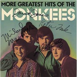 The Monkees Signed More Greatest Hits of the Monkees Album
