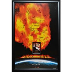 Armageddon Signed Movie Poster