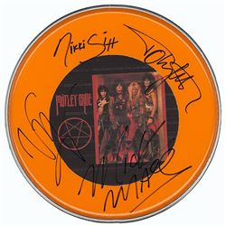 Motley Crue Signed Drum Head