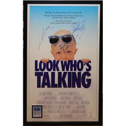 Look Who's Talking Signed Movie Poster