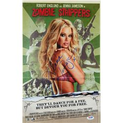 Jenna Jameson Signed Zombie Strippers 11x17 Movie Poster (Full Signature)