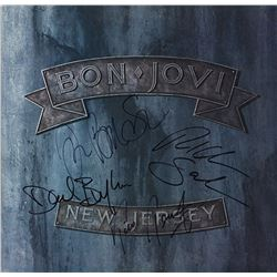 Bon Jovi Signed New Jersey Album