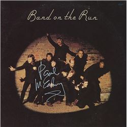 "Paul McCartney Signed ""Band On The Run"" Album"