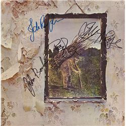 Led Zeppelin Band Signed Led Zeppelin IV Album