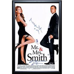 Mr. & Mrs. Smith Signed Movie Poster