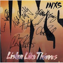 INXS Band Signed The Swing Album