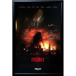 Godzilla Signed Movie Poster