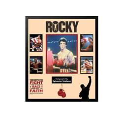 Rocky Signed Collage