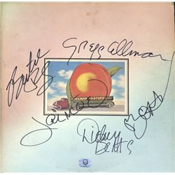 "Allman Brothers Band ""Eat a Peach"" Signed Album"