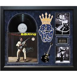 """B.B. King Signed """"Great Moments"""" Album"""