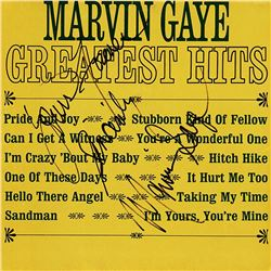 Marvin Gaye Signed Greatest Hits Album