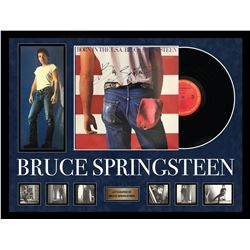"""Bruce Springsteen """"Born in the USA"""" Signed Album"""