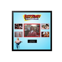 Fast Times at Ridgemont High Signed Sean Penn Collage
