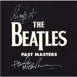 The Beatles McCartney Starr Signed Past Masters Album