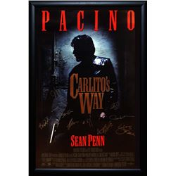 Carlito's Way Signed Movie Poster