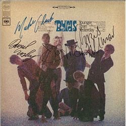 """The Byrds """"Younger Than Yesterday"""" Signed Album"""