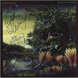Fleetwood Mac Band Signed Tango In The Night Album