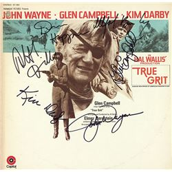 "John Wayne ""True Grit"" Signed Soundtrack Album"