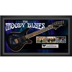 Moody Blues Signed Guitar
