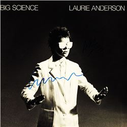 "Laurie Anderson ""Big Science"" Signed Album"