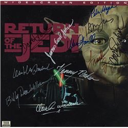"Star Wars ""Return of the Jedi"" Signed Laserdisc"