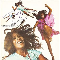 Ike & Tina Turner Signed Feel Good Album