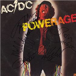 AC/DC Band Signed Power Age Album