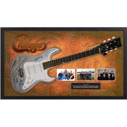 Chicago Autographed   Guitar
