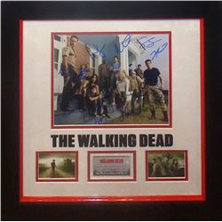 Walking Dead Autographed Cast Photo