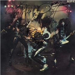 "KISS Signed ""KISS Alive!"" Album"