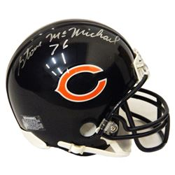 Steve McMichael Signed Chicago Bears Riddell Mini Helmet
