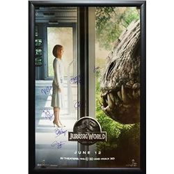 Jurassic World Signed Movie Poster