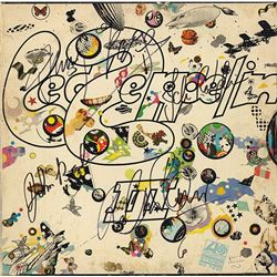 "Led Zeppelin ""III"" Signed Album"