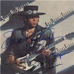 "Stevie Ray Vaughan & Double Trouble Signed ""Texas Flood"" Album"