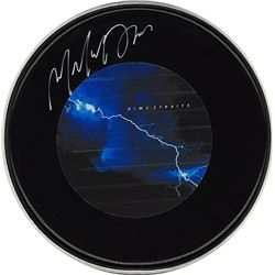 "Dire Straits ""Love Over Gold"" Signed Drum Head"