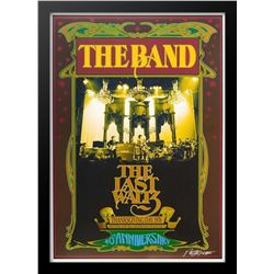 "Concert poster designed for The Band ""The Last Waltz"" at the Winterland Ballroom in San Francisco on"